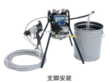308隔膜泵单套喷涂